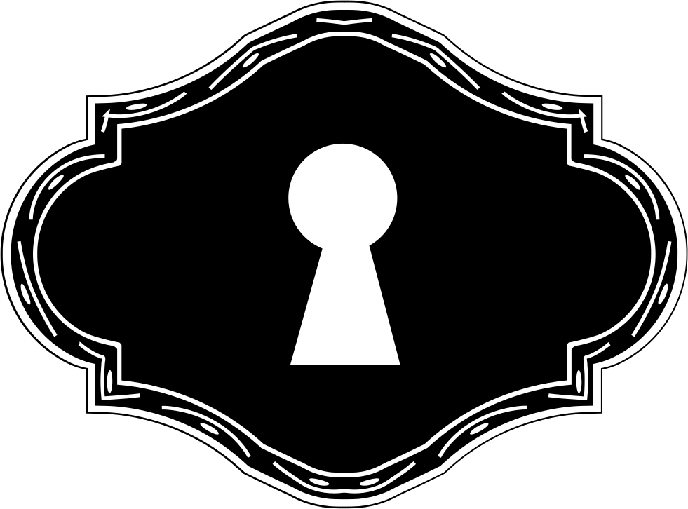 svg free download Keyhole In Horizontal Shape Svg Png Icon Free Download