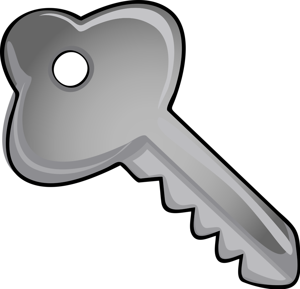jpg free download Key and lock clipart. Free stock photo illustration