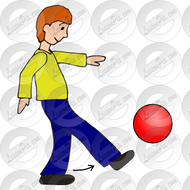 clip art black and white stock Kickball clipart. Kick ball picture for