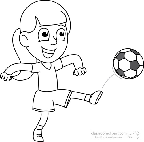 clipart library download Kickball clipart black and white. Collection of free chucking