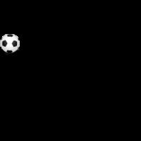 png royalty free stock Girl Kicking Soccer Ball Clip Art