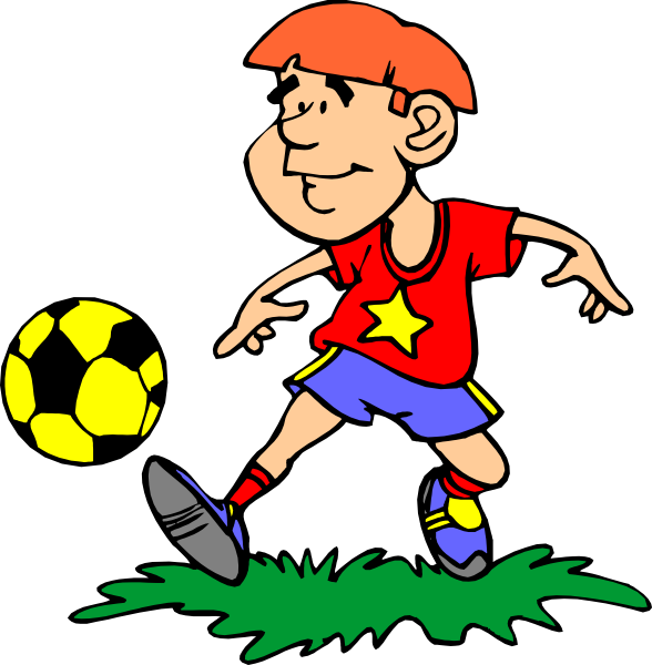 banner transparent stock Kids playing soccer clipart. For at getdrawings com