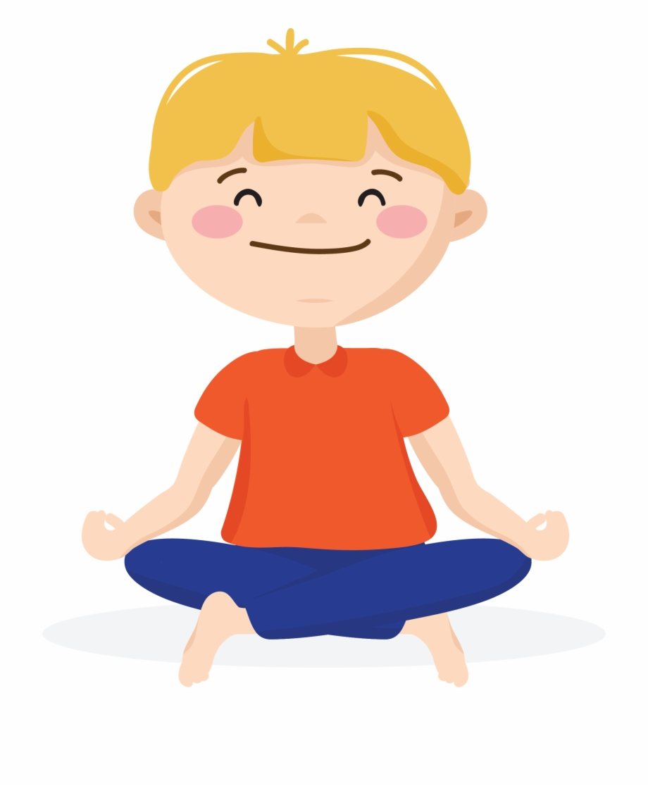 banner free library Kid breathing clipart. Mindfulness techniques heart centered