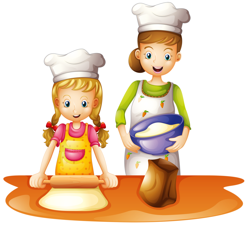 clip art freeuse library kids cooking clip art