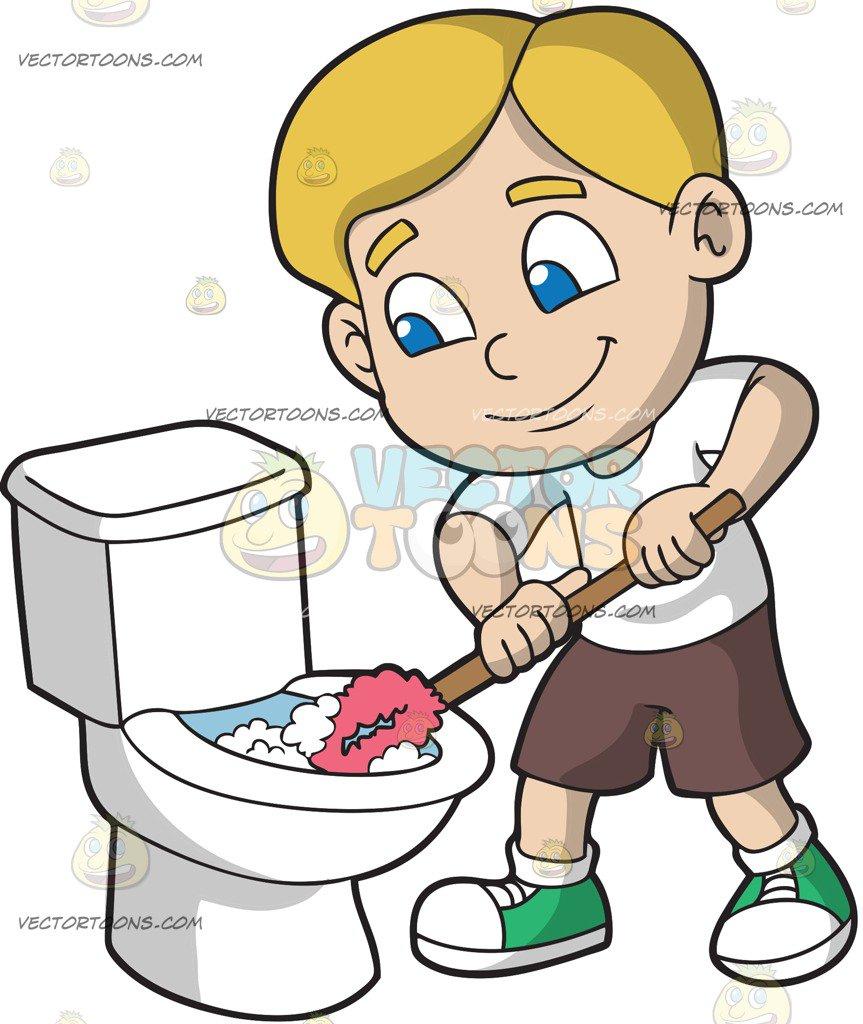 vector download Portal . Kid dusting clipart