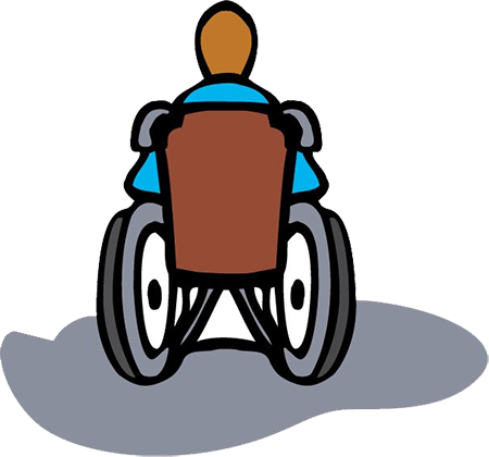 clip transparent library Kid in wheelchair clipart. Index of images story