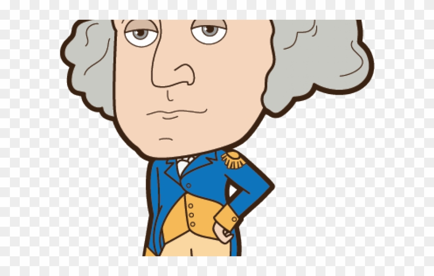 picture royalty free library Patriotic clip art george. Kid president clipart