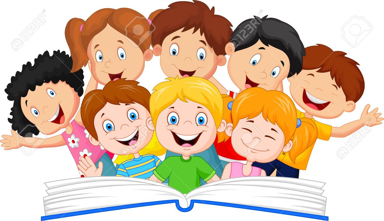 svg free Kids reading clipart. Book stock illustrations cliparts