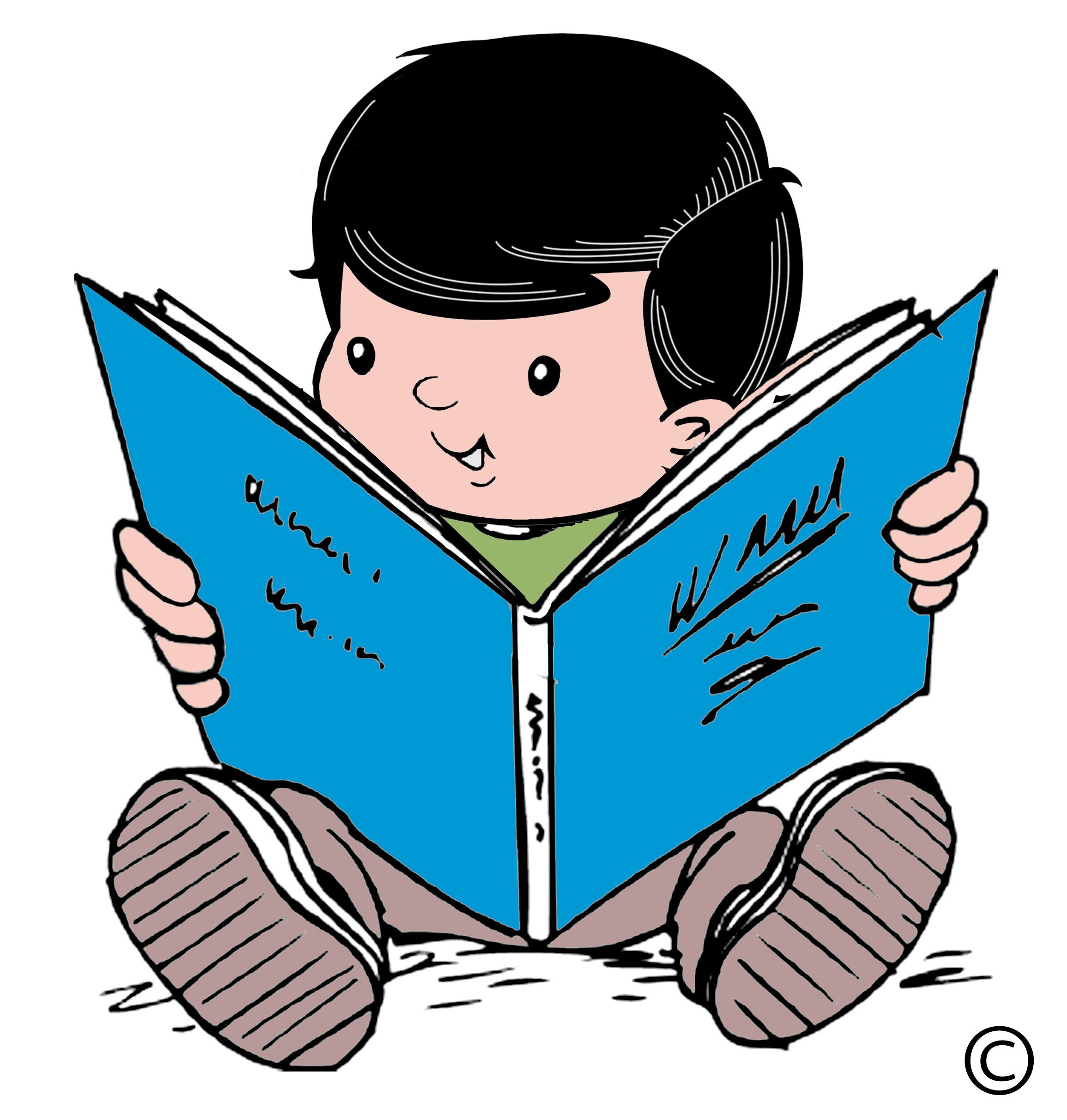 jpg freeuse download Kid reading clipart. Child cliparts co kids
