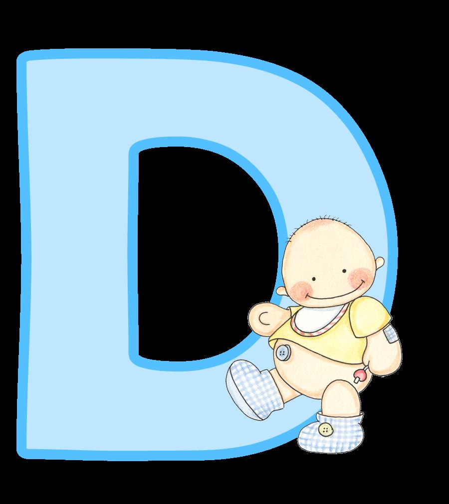 black and white download Alfabeto con lindo beb. Kid shower clipart