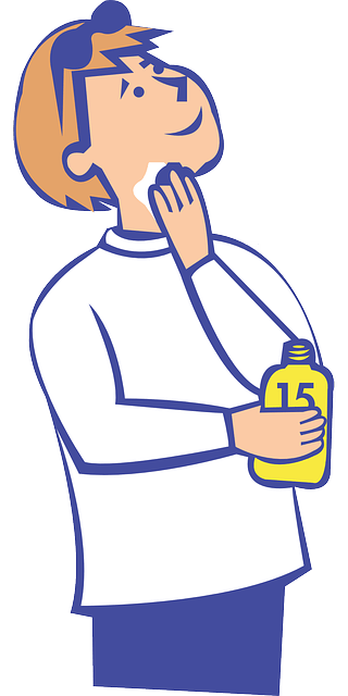 clipart freeuse Kid sunscreen clipart. Autism and preparing for