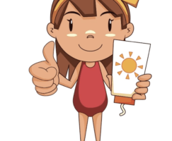 clip freeuse download Portal . Kid sunscreen clipart