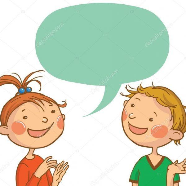 jpg royalty free library Kid talking clipart. Kids station