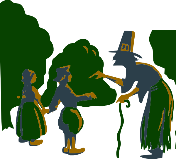 banner transparent stock Witch to kids clip. Kid talking clipart