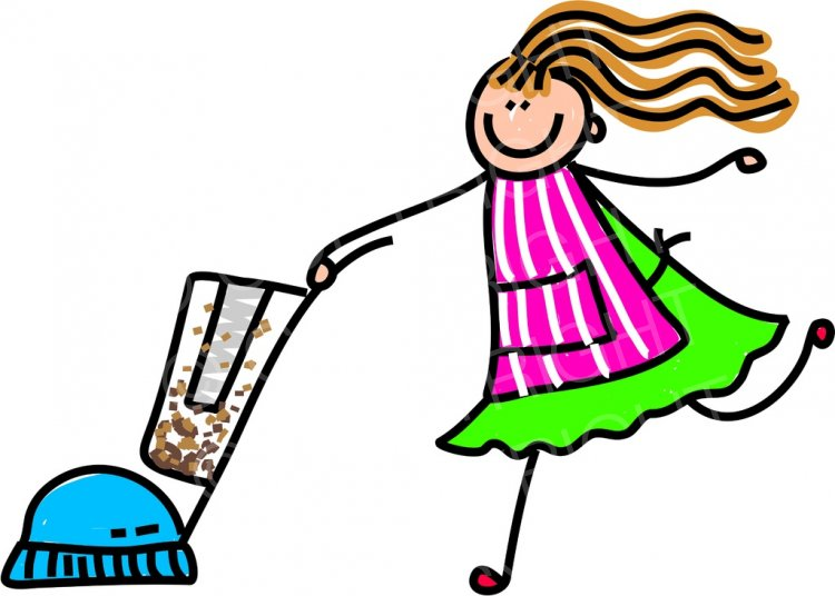 jpg freeuse library Happy cartoon cleaner toddler. Kid vacuum clipart
