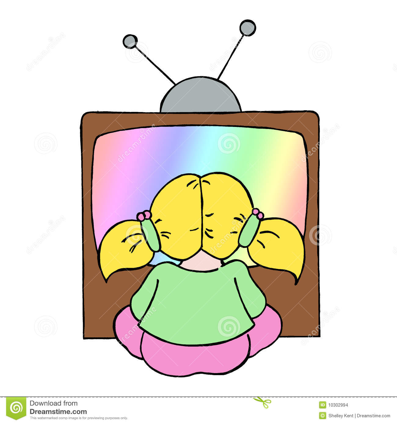 clip transparent download Kid watching tv clipart. Pictures of kids free.