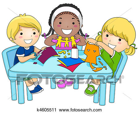 clip transparent download Kids art clipart. Station