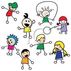 graphic black and white download  best images of. Kids at play clipart