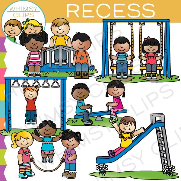 clip freeuse stock Kids at recess clipart. Clip art