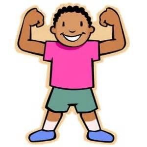 vector transparent stock Strong kids clipart. Brave kid transparent free