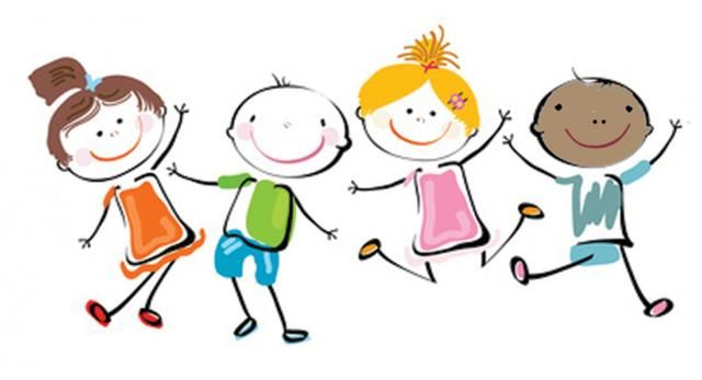 banner transparent library Kids clipart. Happy clip art cliparts