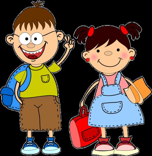 library Kids clipart png. School children pinterest.