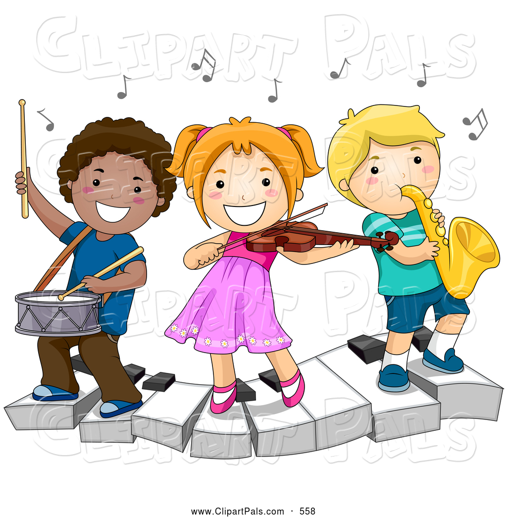 freeuse download Doing art free download. Music kids clipart.