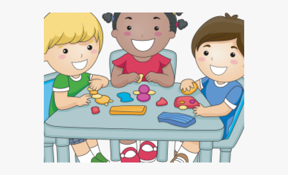 clip transparent library Kids sharing clipart. Snack walking clip art