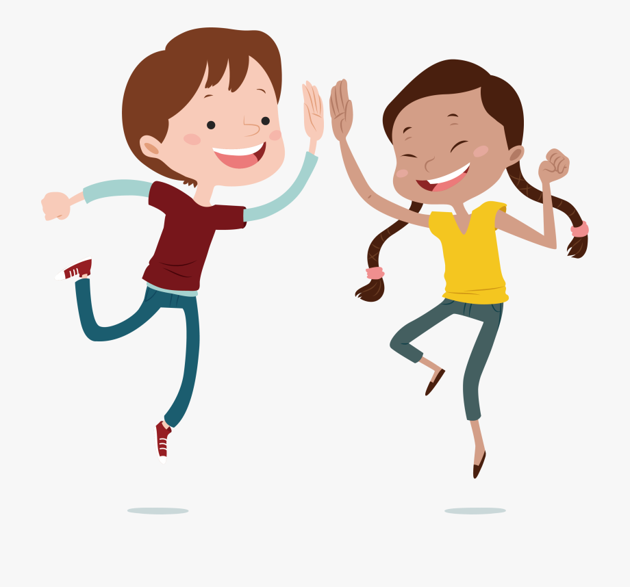 png Kids jumping clipart. Child jump cartoon png.