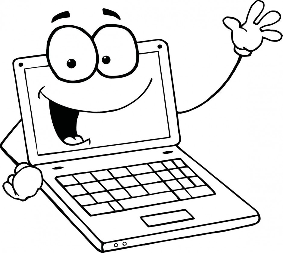 picture library stock Kids laptop clipart. Clipartfest wikiclipart