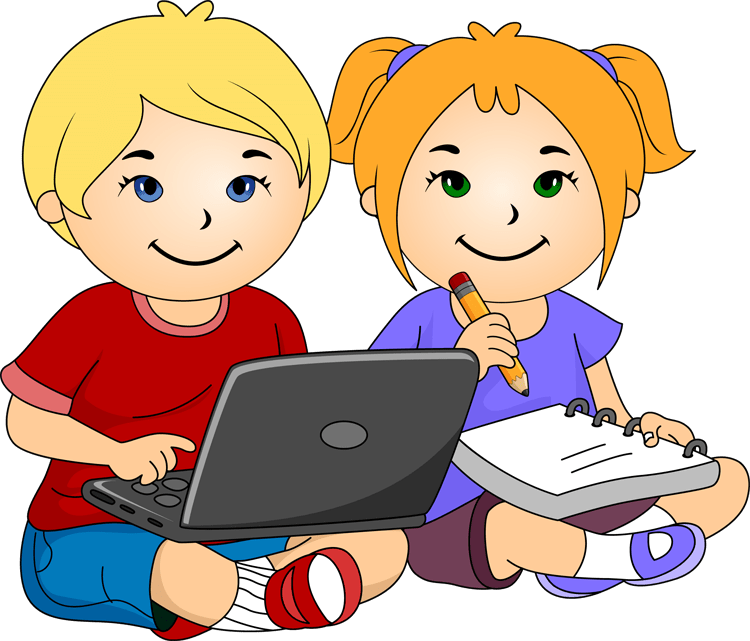 vector library download Computer for . Kids laptop clipart