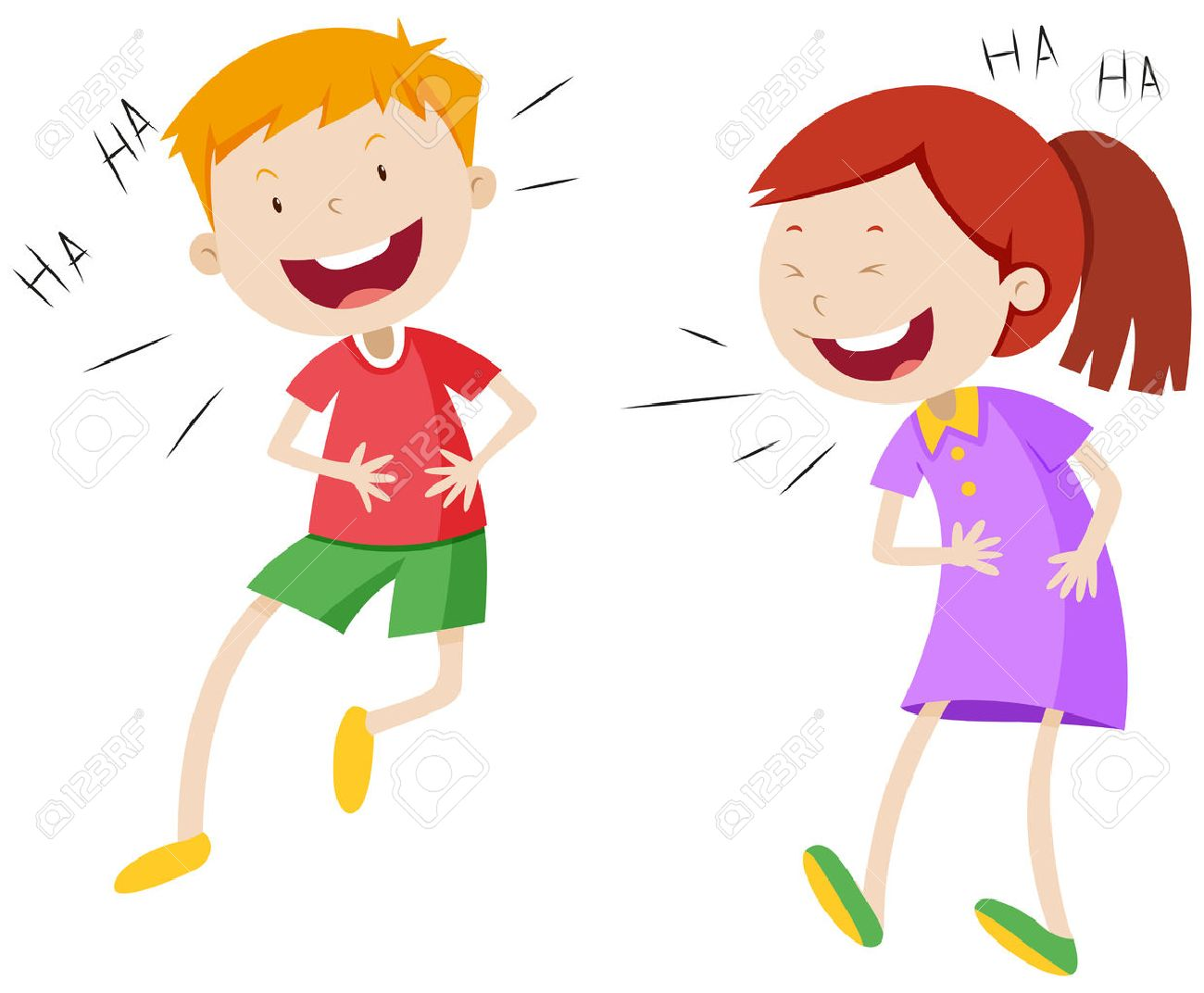 picture download Station . Kids laughing clipart.