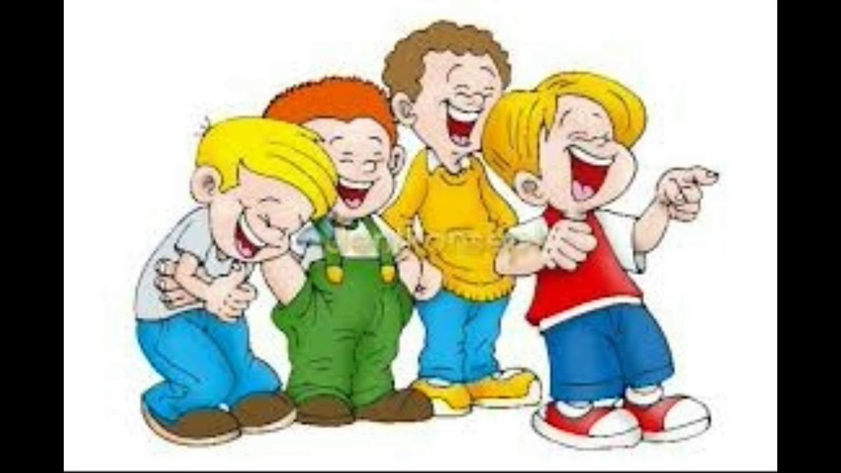 svg free stock Kids laughing clipart. Portal .