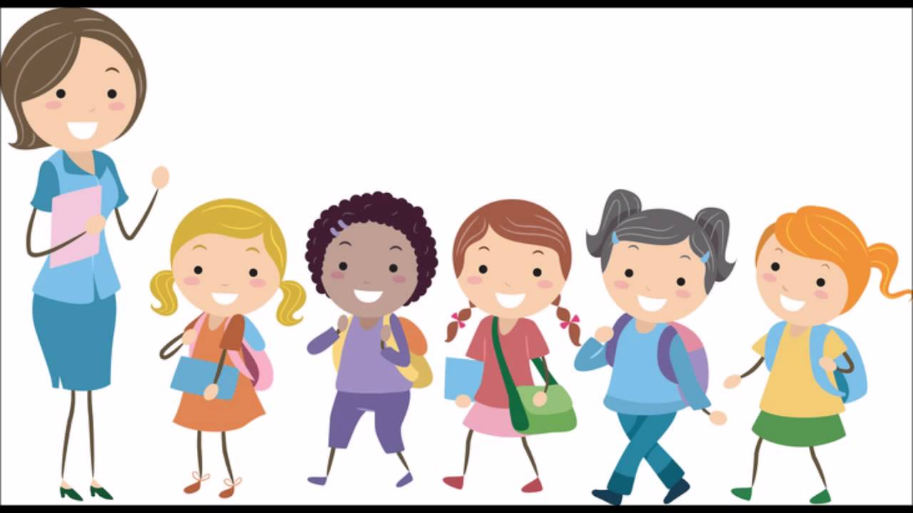 clip freeuse library Children portal . Kids lining up clipart.