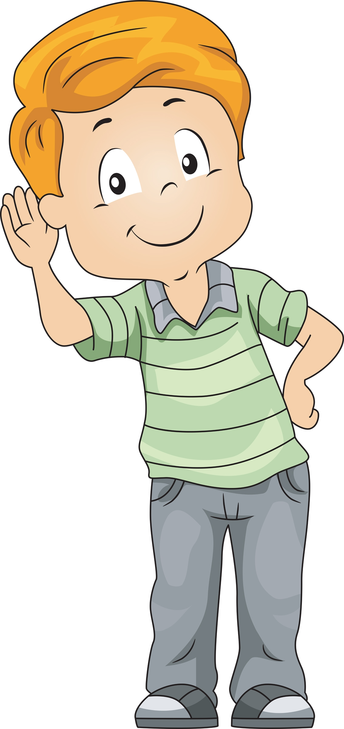 jpg free library Free ears cliparts download. Kids listening clipart