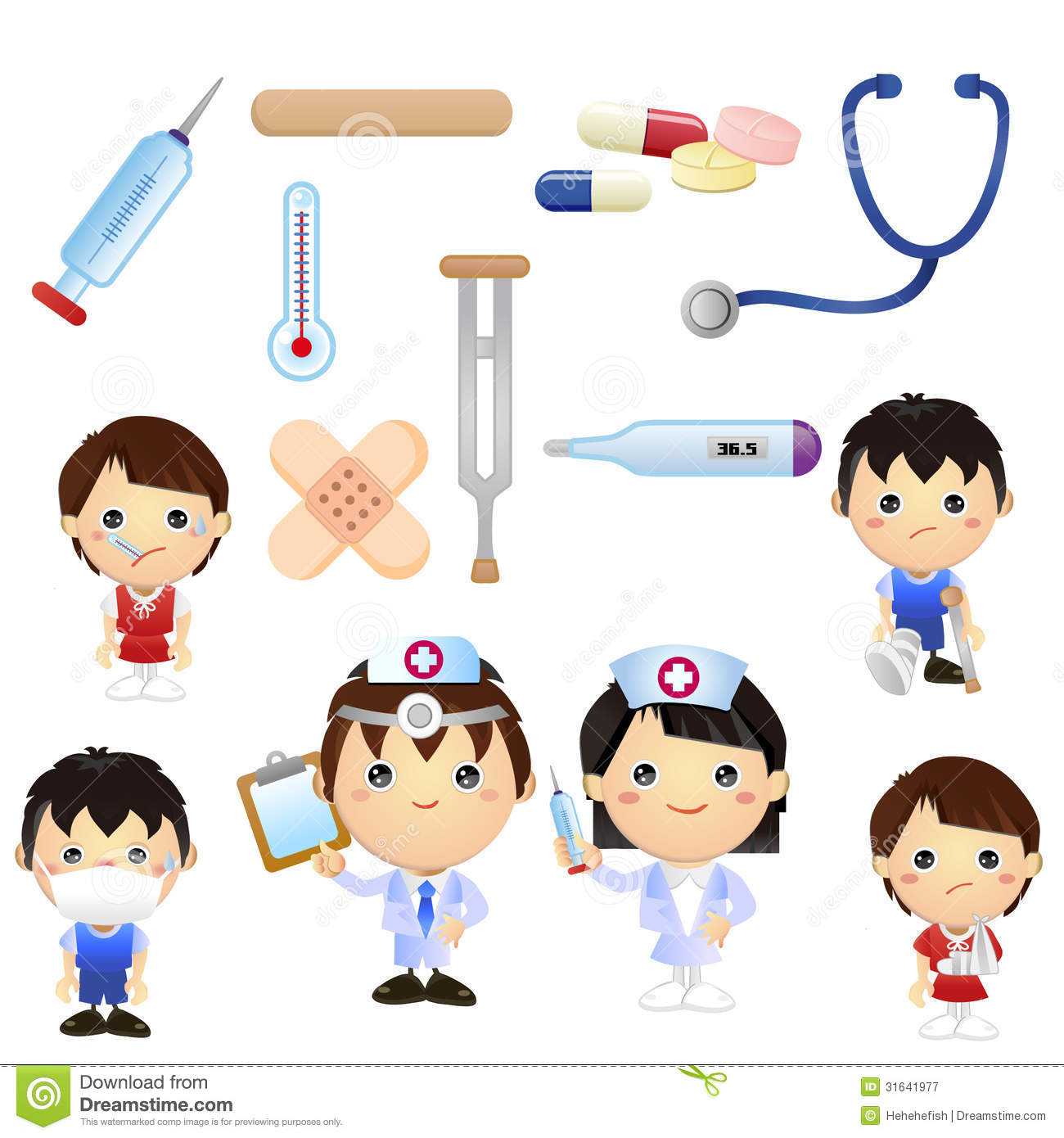 vector transparent Free cartoon cliparts download. Kids medicine clipart.