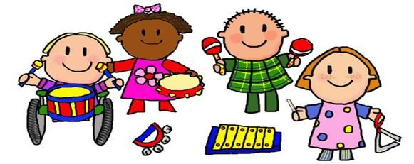 graphic freeuse Kids music clipart. Cartoon clip art for