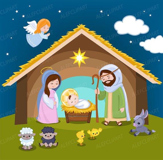 clip free download Kids nativity clipart. Portal