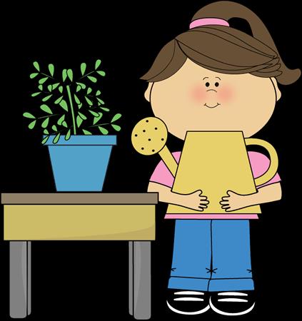 svg transparent Kids plants clipart. Classroom cliparts zone
