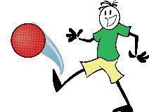 clipart transparent Portal . Kids playing kickball clipart