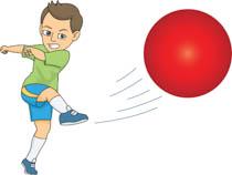 png freeuse download Portal . Kids playing kickball clipart