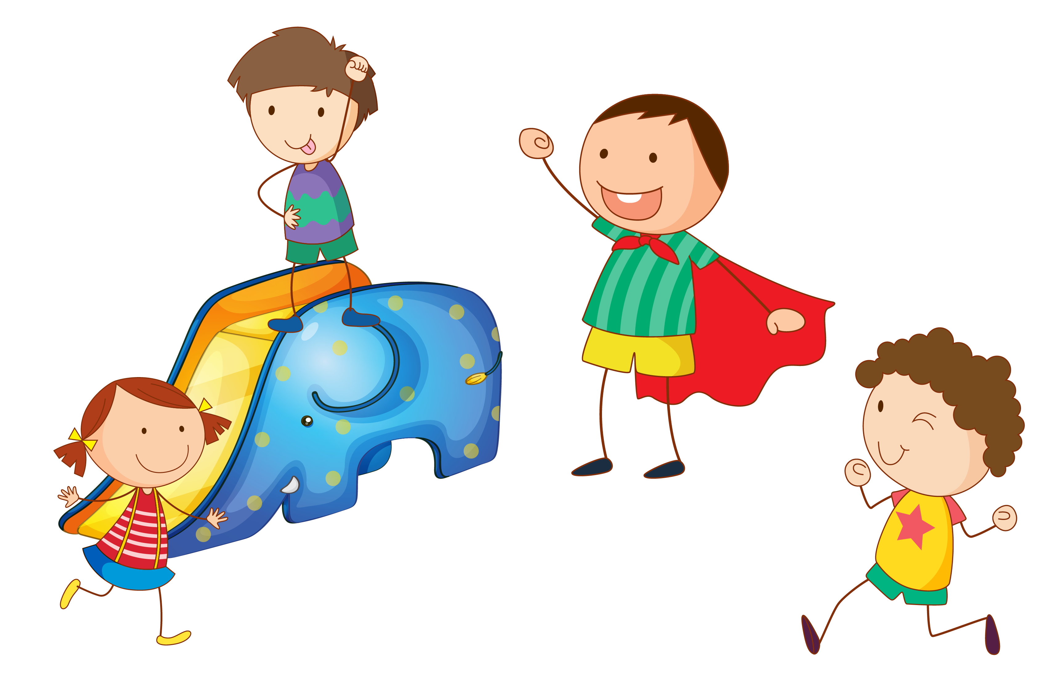 download Kids playing on playground clipart. Child boy children play