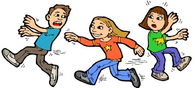 free Kids playing tag clipart. Children clip art bay.