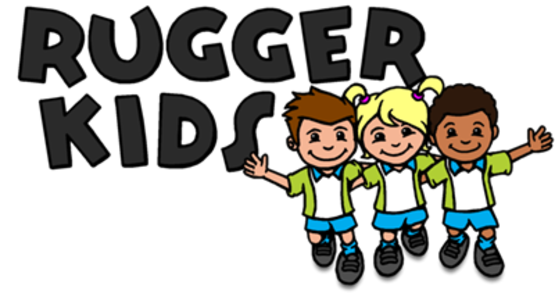 image black and white library Kids playing tag clipart. Rugby for children aged.
