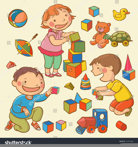clipart free download Free of images at. Kids playing together clipart.