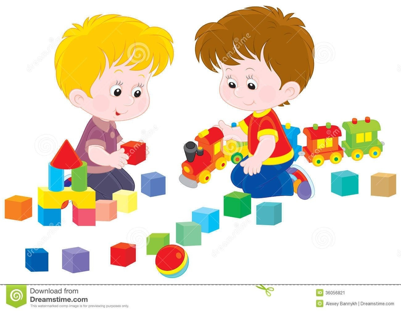 graphic black and white stock Children clip art for. Kids playing with toys clipart.