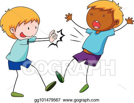 clipart free library Portal . Kids pushing each other clipart