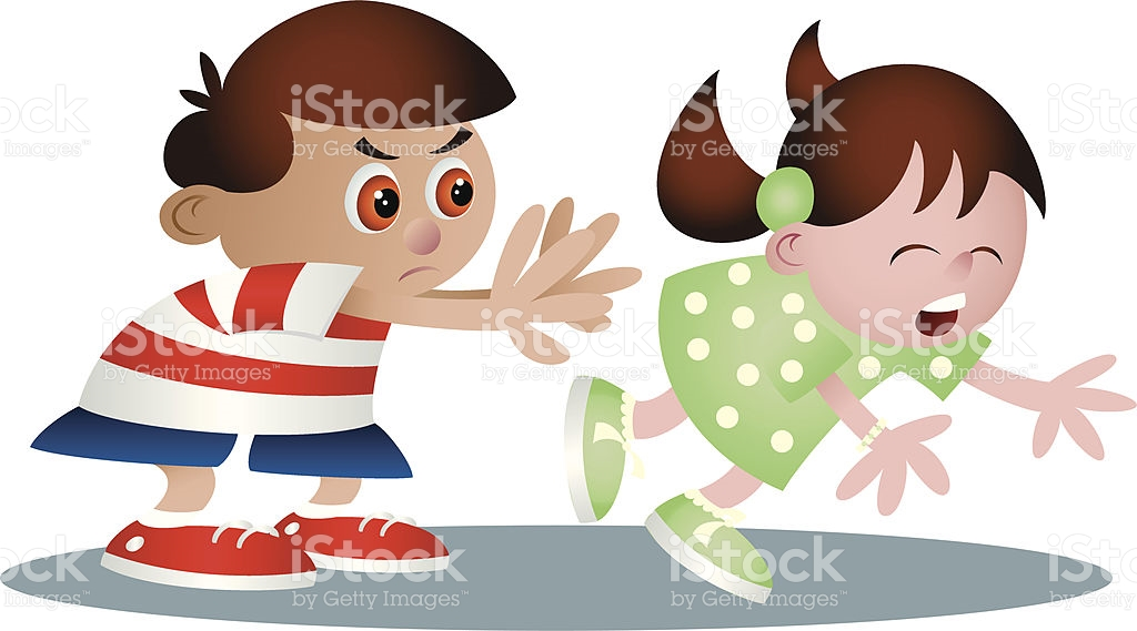 banner transparent Kids pushing each other clipart. Station
