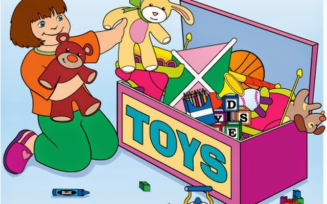 graphic royalty free library  collection of high. Kids putting toys away clipart