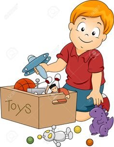 clip art royalty free library Portal . Kids putting toys away clipart